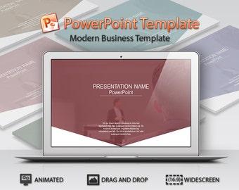 PowerPoint Template - Modern Business