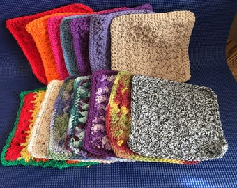 "Old Style Granny""s Washcloths"
