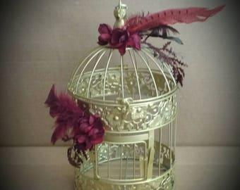 Vintage Great Gatsby Style Birdcage
