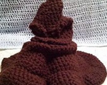 Crochet sorting hat Etsy