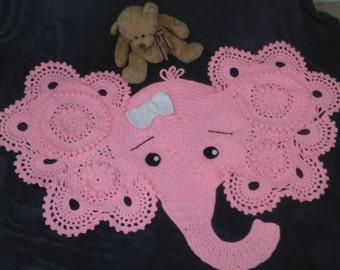 Pink Nellie rug