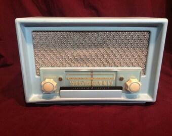 1950's jet age Rogers Majestic tube radio