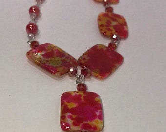 Live Loud- Handmade Necklace Made in the USA