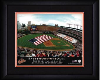 Baltimore Orioles Personalized Print Camden Yard - MLB Print