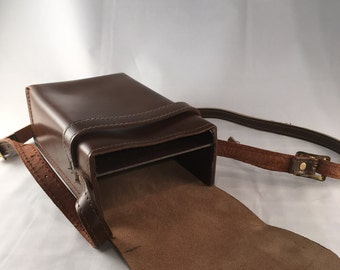 Cowhide Leather Camera Case
