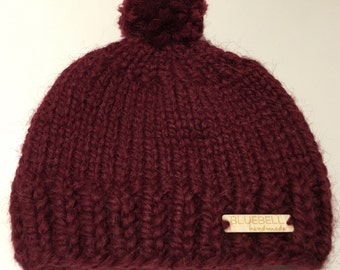 Bluebell Handmade Wolly Hat - Children
