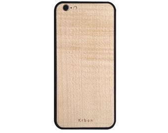 Case for Iphone 6 / 6s solid wood