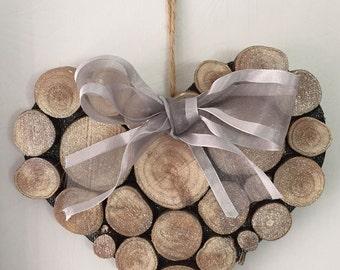 Log Slice Heart