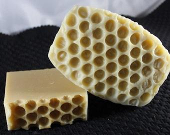 Honey, milk and oatmeal soap