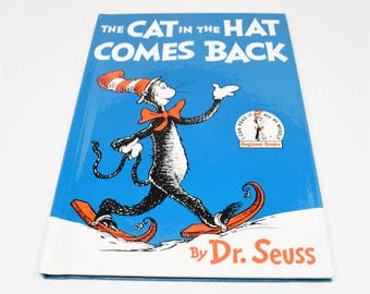 DR. SEUSS The Cat In The Hat Comes Back Book ~ The Cat In The Hat ~ Dr. Seuss Classics ~ Dr. Seuss Beginner Books ~ Children's Books ~ Seuss