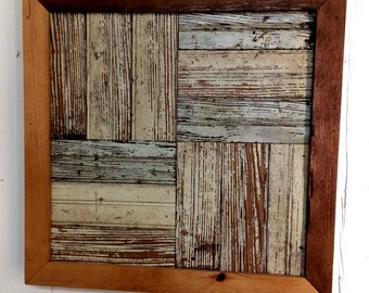 Reclaimed Wood Wall Decor