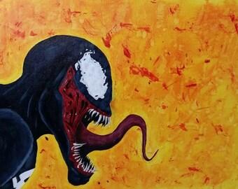 Venom Painting