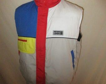Rare vintage LOOK 1980s ski jacket size M