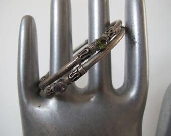 Vintage Sterling Silver Bracelets