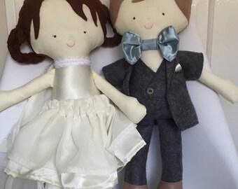 Bride & Groom Doll - Customised
