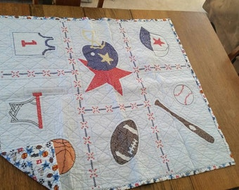 All star sports quilt