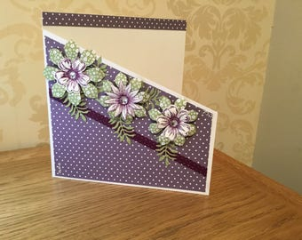 8x8 card birthday or any occasion card