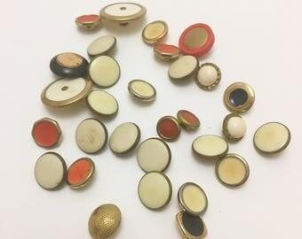 Vintage Buttons, Unique Buttons, Sewing Supplies, Buttons, Multiple Buttons, Button Supplies