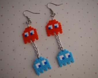 pacman ghosts earrings