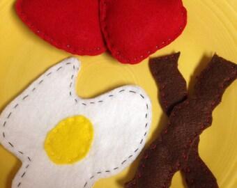 Play Felt Food-Breakfast platter