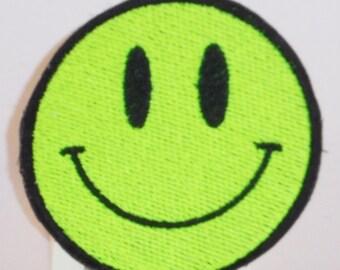 UV Acid Smiley patch