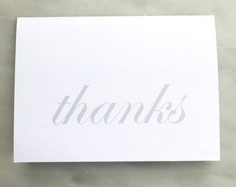 Thanks Note Card - Ever So Pretty Paperie