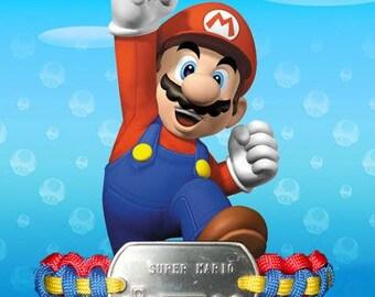 Super Mario Paracord Bracelet