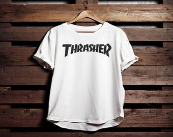 Thrasher T-shirt Pocket T-shirt Womans T-shirt Unisex Mens T-shirt Gift T-shirt