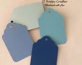 Tags / Favor Tags / Candy Bar Tags / Price Tags / Gift tags / Decorative tags / Wedding Tags / Labels / Blue Tags