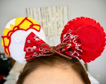 "Toy Story inspired Jessie ""Yodel-ey-ee-hoo"" Minnie Ears 