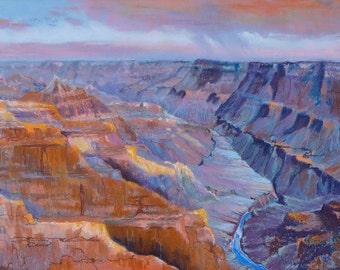 Fine Art Print-Colorado River, Grand Canyon Series