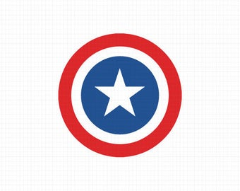 Captain America Svg, Captain America Decal,Dxf,Eps,Png, Superhero,Cricut File,Captain America Logo SVG, Captain America Shirt,Marvel decals