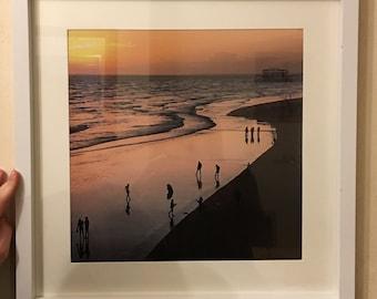 Low Tide Brighton Sunset