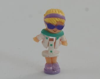 1994 - Polly Pocket – Racy Roadster Ring - Polly - doll only