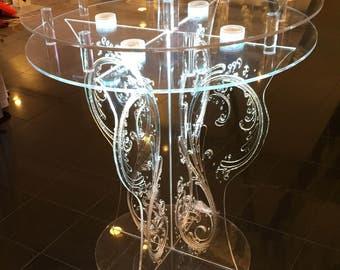wedding Acrylic cake Table