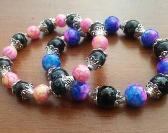 galaxy bracelet set