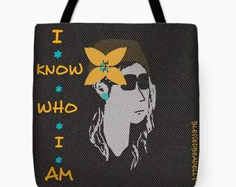I know who I am Boho Bag