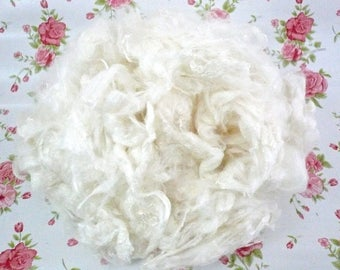 Spinning fibres, Bamboo Fibre,Felting, Creative fibres, Blended Batts