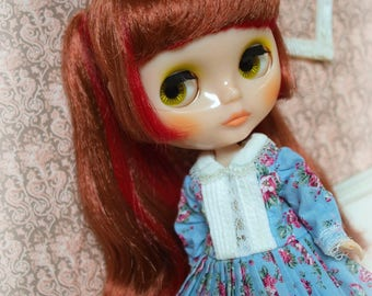 Griza Dress - For Blythe/Redberry/Licca/Azone