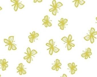 Windham Fabrics Stella by Lotta Jansdotter 40690-2     -- 1/2 yard increments