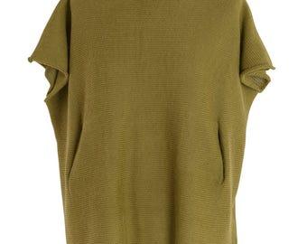Shuttleknit Alpaca Wool Shrug Tunic - Freesize