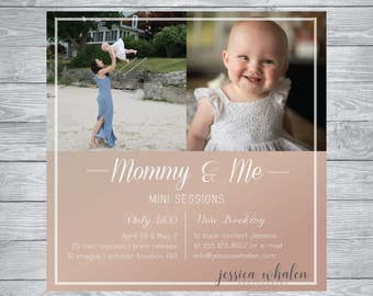 Mother's Day Mini Photography Session Ad Template