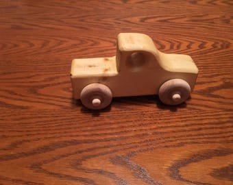 Handmade Wooden Toy Trucks