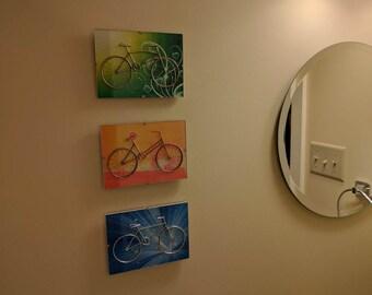 Wire Bike Art