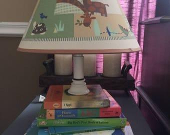 Children's Book Lamp
