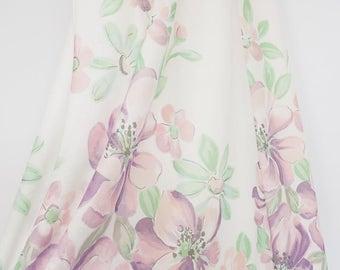 Vintage 70s strapless avondjurk maxi jurk bruiloft