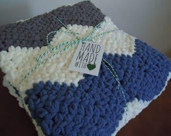 Soft Chunky Baby Blanket