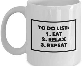 to-do list 11oz coffee mug