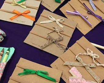 Custom 4 bow package. Chose your favorite bows to fit your little one's style!