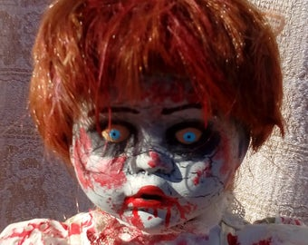 Creepy Zombie Vampire Gothic Walking Dead Doll - Kaitlin